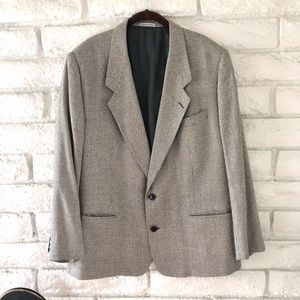 YSL Vintage Luxury  Blazer Jacket Silk/Wool
